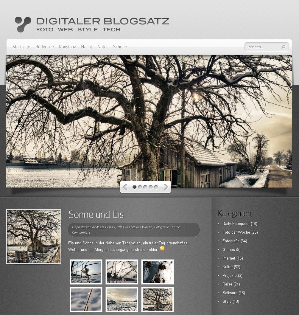 Digitaler Blogsatz – Relaunch Version 2.0