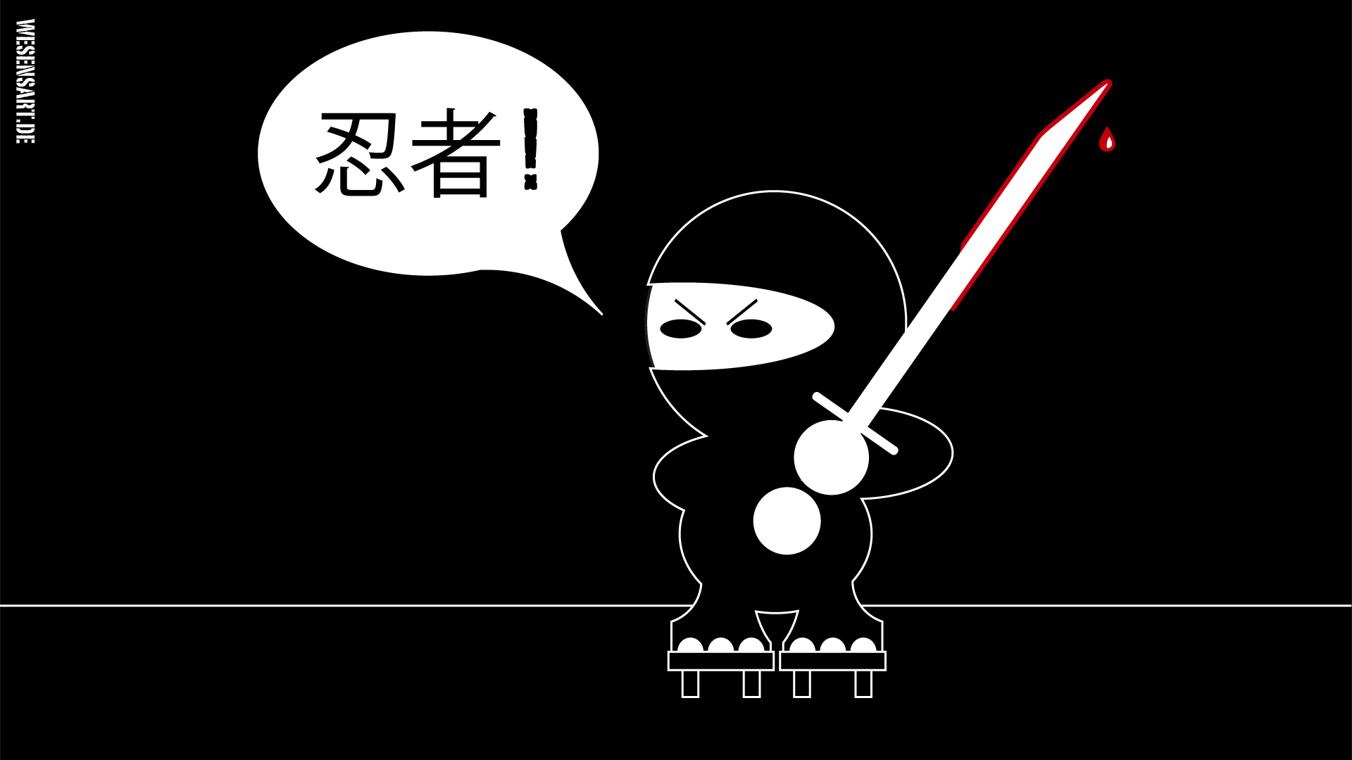 Ninjas sind cool!
